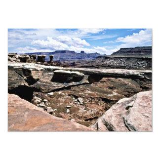 Musselman Arch - Canyonlands National Park 13 Cm X 18 Cm Invitation Card