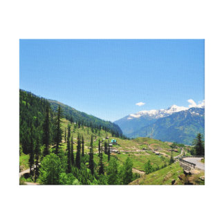 Mussoorie Mountains Canvas Print