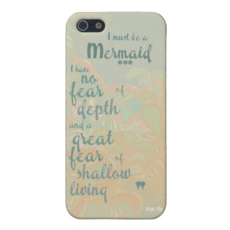 Must be a Mermaid iPhone 5 Cover