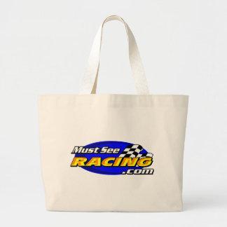 Must See Racing Large Tote Bag