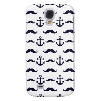 Mustache and anchor galaxy s4 cases