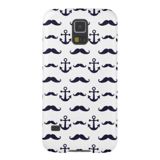Mustache and anchor galaxy s5 covers
