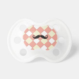 Mustache and Cherkerd 0-6 months BooginHead® Pacif Dummy