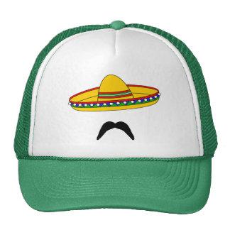 Mustache and Sombrero Cinco de Mayo Fiesta Hat