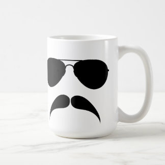 Mustache Aviator Mug