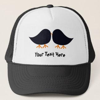 Mustache Bird Hat