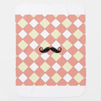 Mustache Blanket