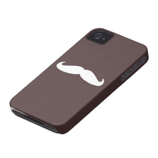 Mustache case iPhone 4 Case-Mate case