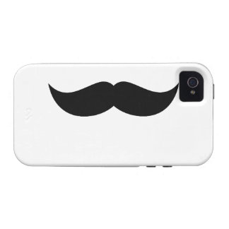 Mustache Vibe iPhone 4 Cover