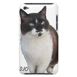 Mustache Cat protects your phone. Barely There iPod Covers