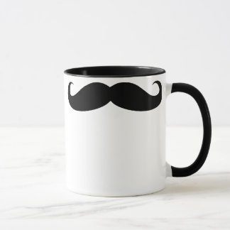 Mustache Coffee Beverage Mug