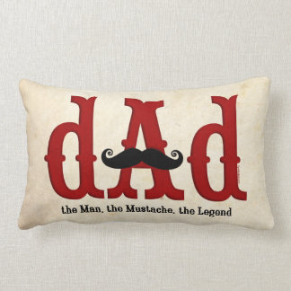 Mustache Dad Pillow Cushions