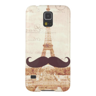Mustache Eiffel Tower Galaxy S5 Cover