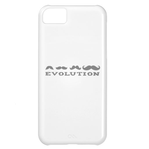 Mustache Evolution iPhone 5C Cover