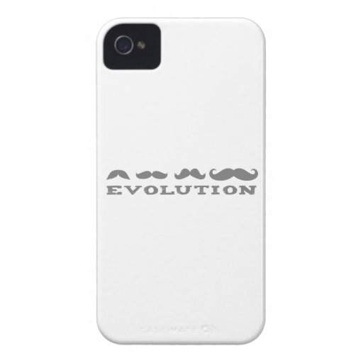 Mustache Evolution iPhone 4 Covers