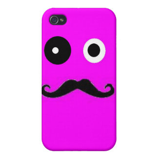 Mustache guy iPhone 4 covers