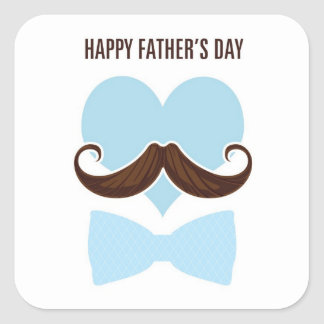 Mustache happy father's day from you little I go