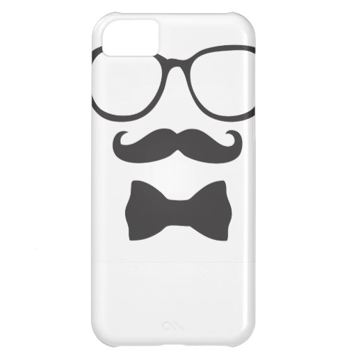 Mustache Hipster Bowtie Glasses iPhone 5C Covers