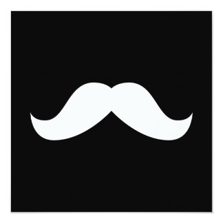 Mustache Invitation