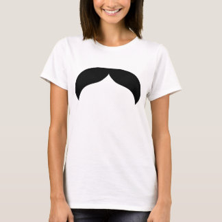 Mustache Ladies Baby Doll (Fitted) T-Shirt