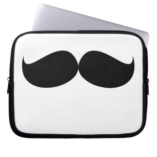 Mustache Laptop Sleeve