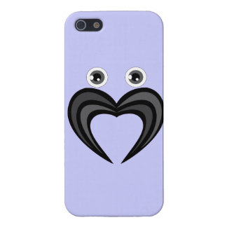 Mustache love cover for iPhone 5/5S