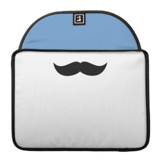 "Mustache Macbook Pro 13"" Rickshaw Flap Sleeve MacBook Pro Sleeve"