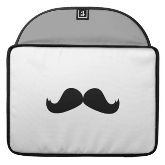 "Mustache Macbook Pro 15"" Rickshaw Flap Sleeve"