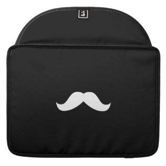 "Mustache Macbook Pro 15"" Rickshaw Flap Sleeve Sleeves For MacBooks"