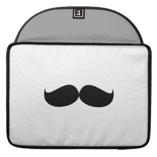 "Mustache Macbook Pro 15"" Rickshaw Flap Sleeve Sleeve For MacBooks"