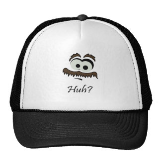 Mustache Man - Huh? Trucker Hat