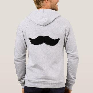 Mustache Men Man Guy Designer Destiny Destiny's Hoodie