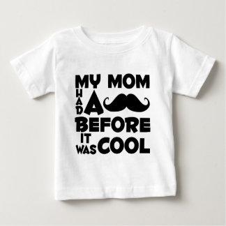 Mustache Mom Baby T-Shirt