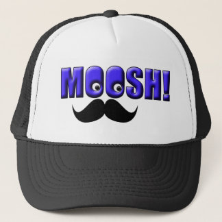 Mustache Moosh! Trucker Hat