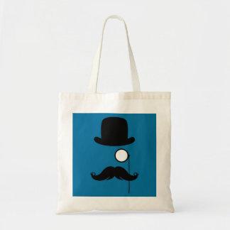 Mustache Moustache Stache Man Budget Tote Bag