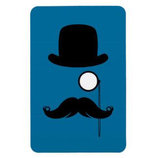 Mustache Moustache Stache Man Rectangle Magnet