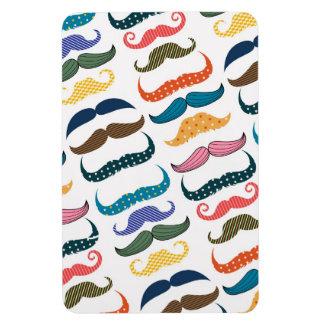 Mustache Moustache Stache Pattern Magnets