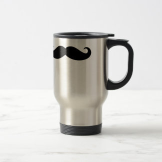 Mustache Mustache, Moustache design Travel Mug