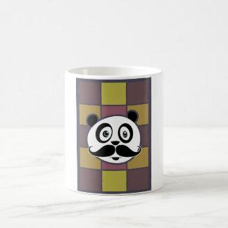 Mustache Panda 3 Coffee Mug