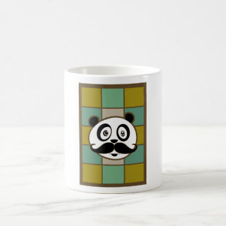 Mustache Panda 4 Mug