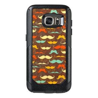 Mustache pattern OtterBox samsung galaxy s7 case