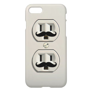 Mustache power outlet iPhone 7 case
