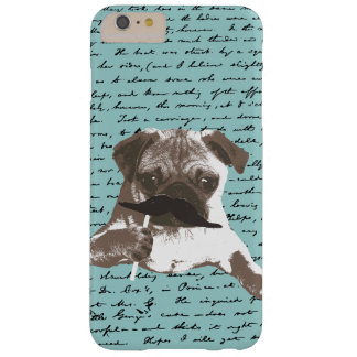 Mustache Pug Hipster iPhone 6 Plus case