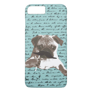 Mustache Pug Hipster iPhone 7 Plus case