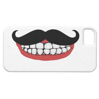 Mustache Smile iPhone 5 Case