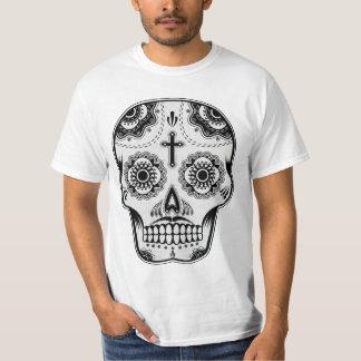 Mustache sugar skull T-Shirt
