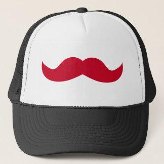 Mustache Trucker Hat