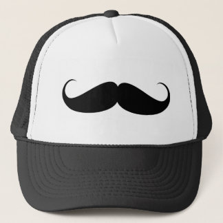 mustache vintage symbol illustration trucker hat