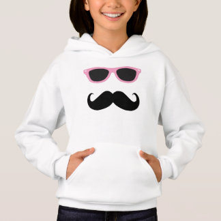 Mustache with Pink Sunglasses