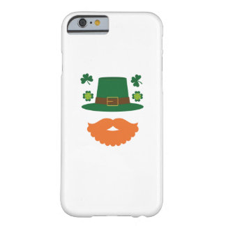 Mustache With Shamrock St. Patrick's Day Barely There iPhone 6 Case